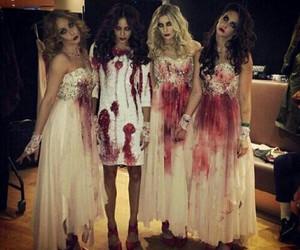 costume, Halloween, and girls image