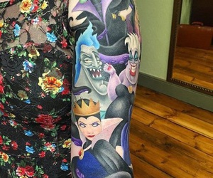 disney and tattoo image