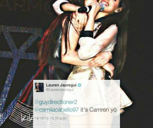 tweet, lauren jauregui, and camila cabello image