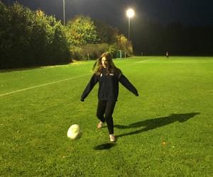 ball, football, and life image