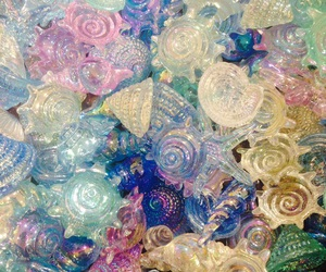 glitter, sea, and theme image