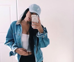 aesthetic, alternative, and baby blue image
