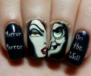 nails and evilqeen image