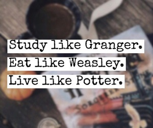 harry potter, granger, and weasley image