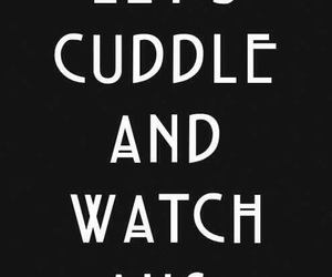 ahs, american horror story, and cuddle image