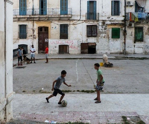 child, futball, and life image