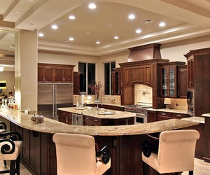 kitchen, luxury, and decor image