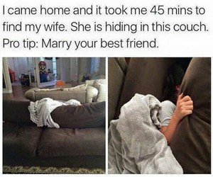 funny, couple, and lol image