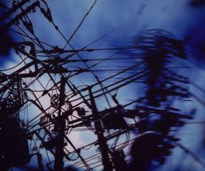 anime, blue, and screencap image