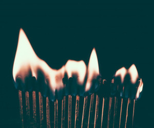 fire, match, and indie image
