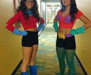 Halloween, costume, and sponge bob image