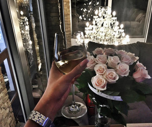 luxury, rose, and flowers image
