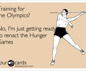 olympics, ready, and the hunger games image