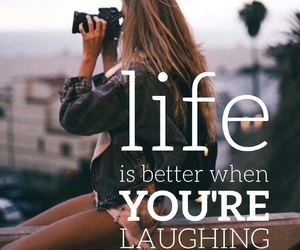 quotes, laugh, and motivational image