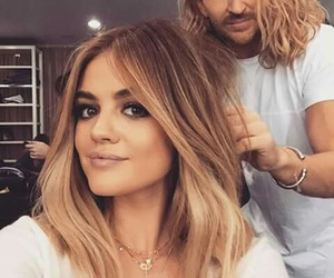 lucy hale, pll, and hair image