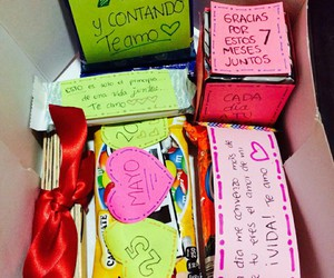 gift, love, and box image