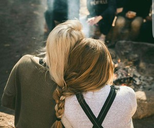 best friends, bff, and braid image