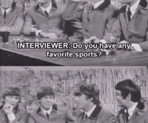 beatles, eating, and funny image