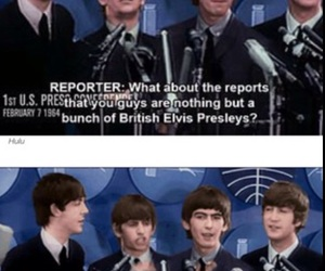 beatles, funny, and george harrison image
