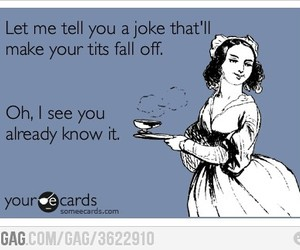 funny, joke, and someecards image
