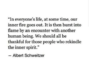 fire, flame, and quote image
