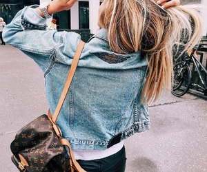 fashion, jacket, and watch image