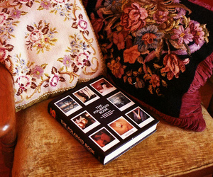 book and floral image