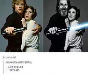 funny, star wars, and tumblr image
