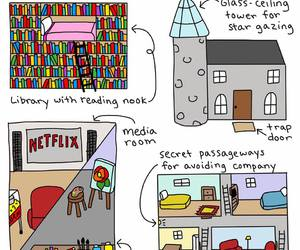 introvert, books, and Dream image