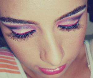 colors, pink, and make up image
