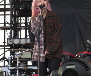 concert, pink, and punk rock image