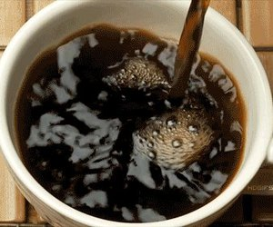 coffee, gif, and morning image