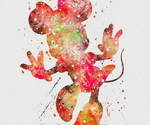 disney, minnie, and wallpaper image