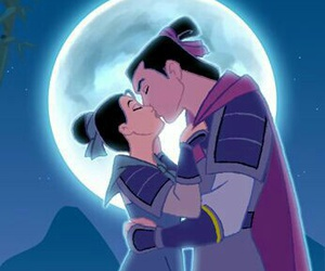 disney, mulan, and love image