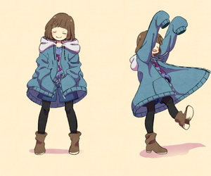 lovely, frisk, and cute image