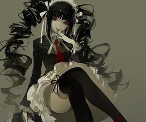 anime, celestia ludenberg, and anime girl image
