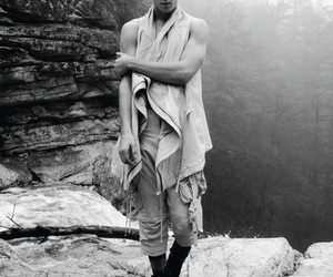 black and white, fashion, and male models image
