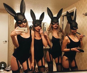 Halloween, costume, and bunny image