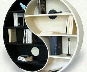 book, bookshelf, and black image