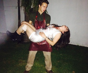 costume, couple, and Dexter image