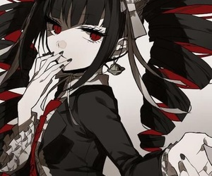 anime, danganronpa, and celestia ludenberg image