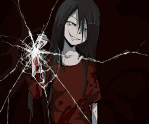 corpse party, anime, and blood image