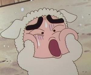 anime, japan, and クレヨンしんちゃん image