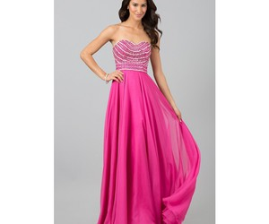evening, gown, and Prom image