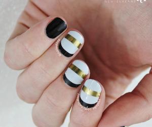elegant, manicure, and nails art image