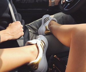 adidas, gold, and cute image