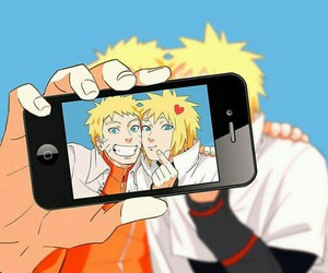 padre, selfie, and hijo image