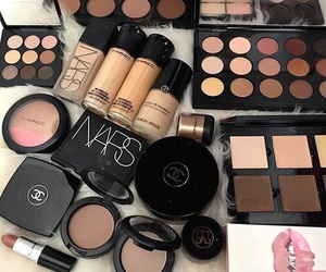 mac, makeup, and chanel image