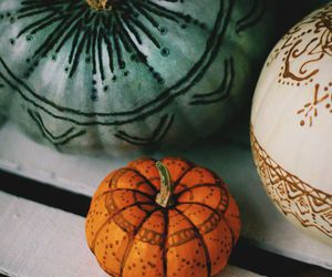 decoration, fall, and Halloween image