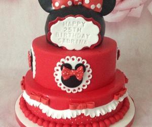 birthday, cake, and disney image